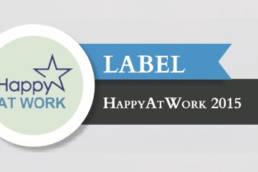 HRConseil est labellisé HappyAtWork en 2015