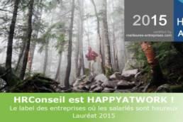 HRConseil est lauréat HappyAtWork en 2015